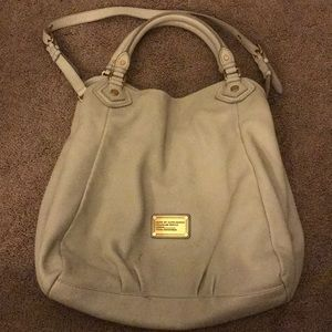 Marc by Marc Jacobs Classic Q Fran Large in bone